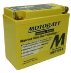 Triumph Scrambler MOTOBATT High Torque Battery: YT12B4/BS BATTERY 12V/11AH 2009on Fi Models